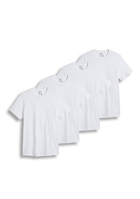 0d3e33e4e5d1 Jockey® 3 Pack + 1 Free Classic Crew Neck T-Shirts Bonus Pack | belk