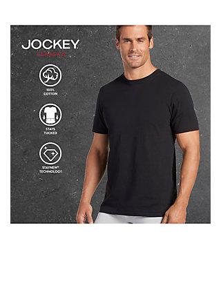 a916663b2de0 Jockey® 3 Pack Classic Crew Neck T-Shirts | belk