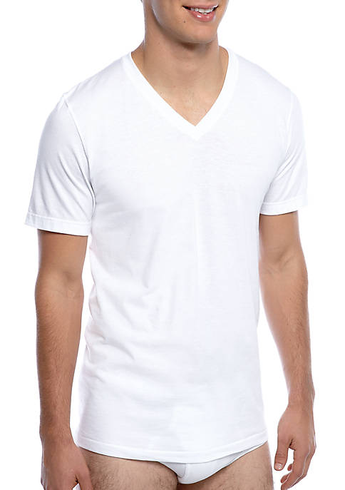 Jockey® 3 Pack Classic V-Neck T-Shirt