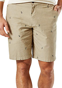 Perfect Anchor Print Shorts