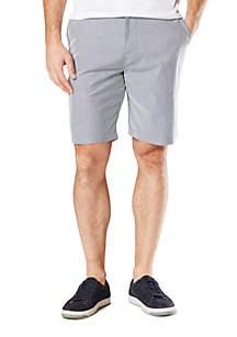 Bengal Stripe Montecito Seersucker Shorts