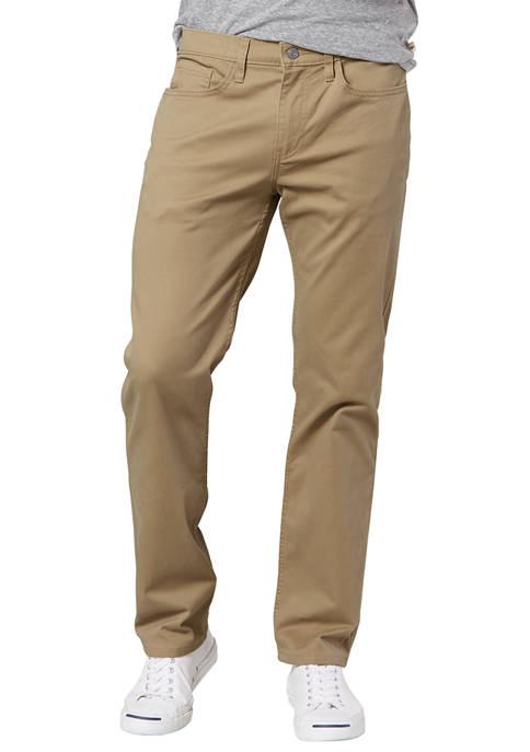 Dockers® Mens Straight Fit Jean Cut Khaki All