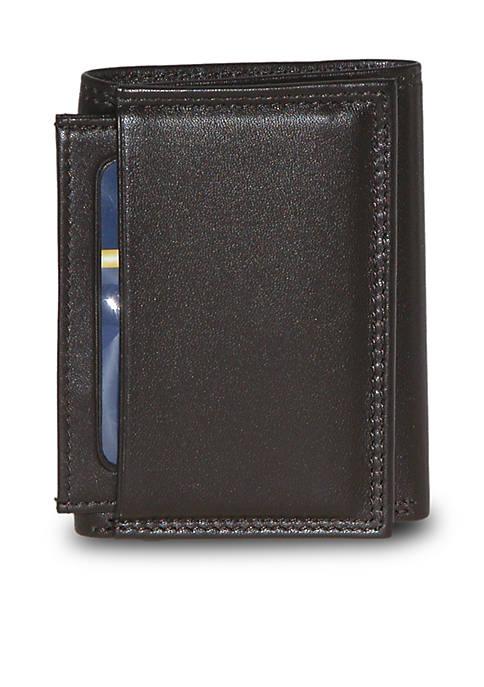 Buxton Emblem I.D.Three-Fold Wallet
