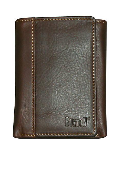 Buxton Sandokan Three-Fold Wallet