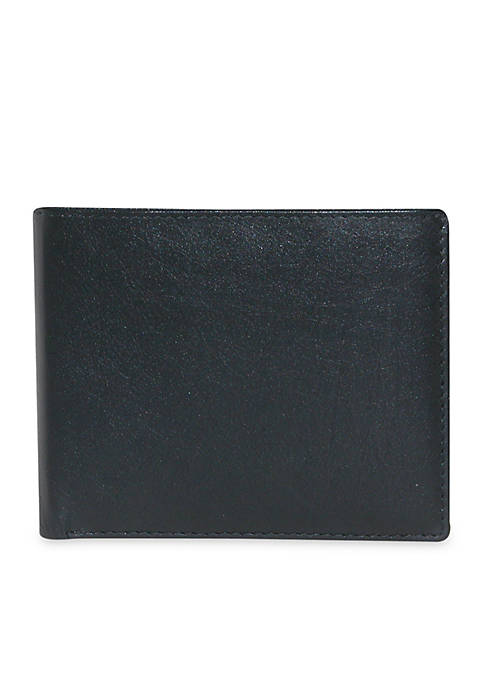 Buxton Houston RFID Credit Card Billfold Wallet