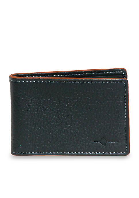 RFID Front Pocket Slimfold Wallet