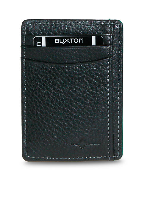 Buxton RFID Front Pocket Get-Away Wallet