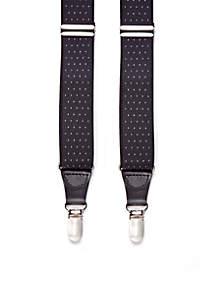 Pin Dot Clip Suspenders