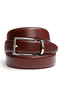Saddlebred® Reversible Leather Belt with Feather Edge