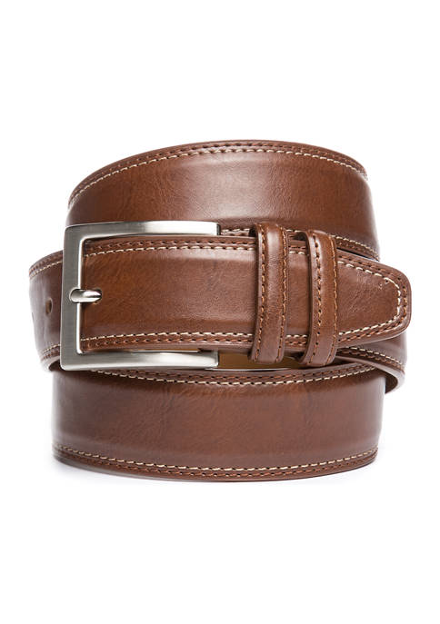 Saddlebred® Casual Leather Belt
