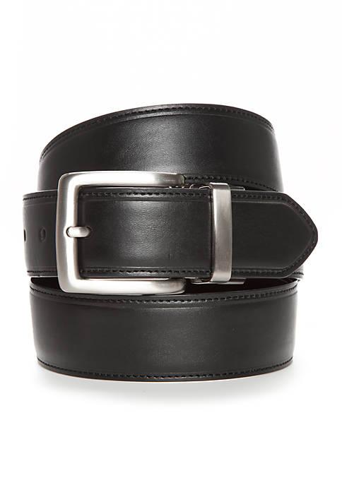 Saddlebred® Cut Edge Stitch Reversible Dress Belt