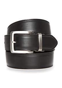 Cut Edge Stitch Reversible Dress Belt