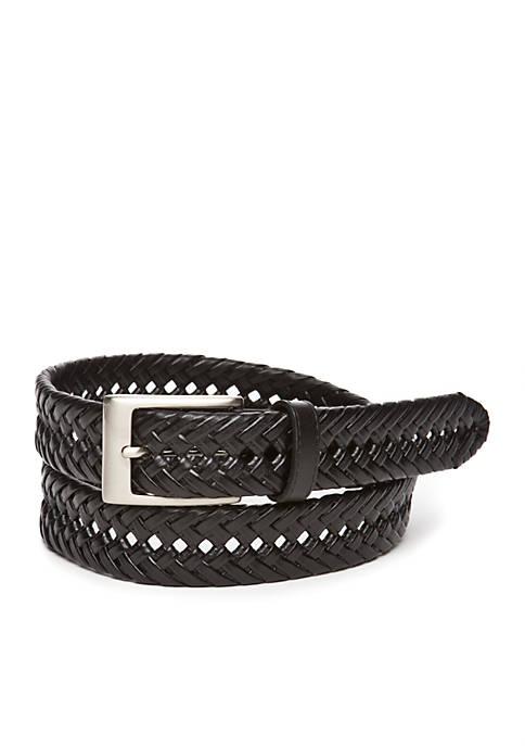 Double Weave Braided Belt