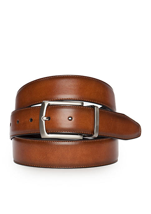 Saddlebred® Big & Tall Feather Edge Stitch Belt