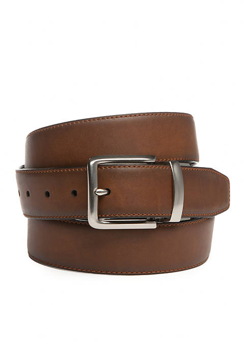Big & Tall Reversible Feather Edge Casual Belt