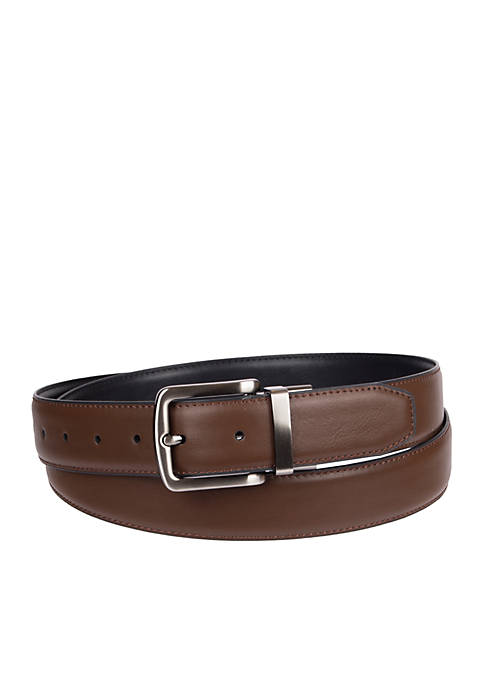 Saddlebred® Big & Tall Stretch Reverse Mens Leather