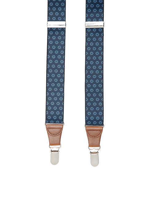 Saddlebred® 1.25-in. Stretch Dotted Suspenders