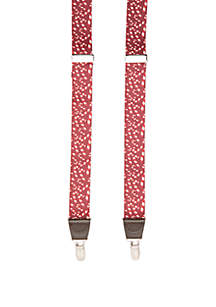 Candy Canes Holiday Suspenders