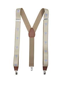 Saddlebred® Gingham Palmetto Suspenders