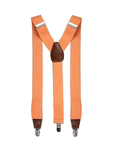 Solid Stretch Suspenders