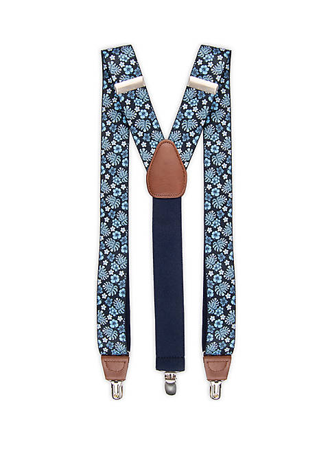 Saddlebred® Floral Suspenders