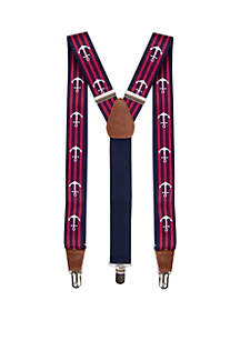 Saddlebred® Printed Stretch Anchor Suspenders