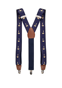 Saddlebred® Printed Stretch Palm Trees Suspenders
