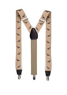 Saddlebred® Printed Stretch Marlin Suspenders