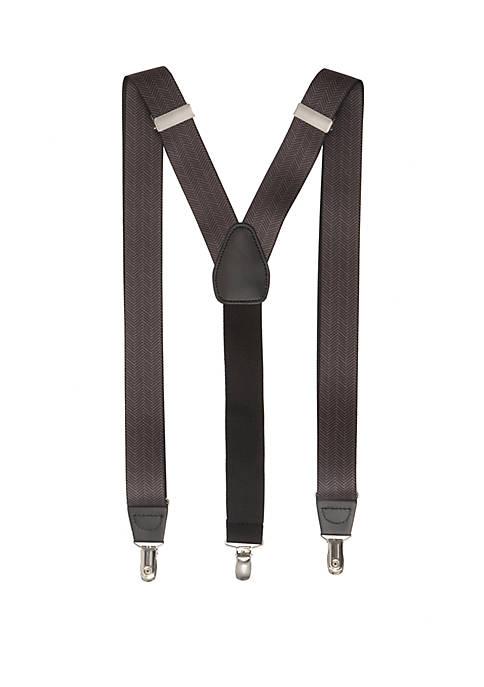 Stretch Herringbone Suspenders