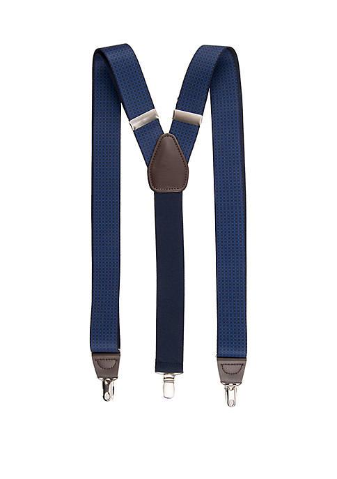 Stretch Print Suspenders