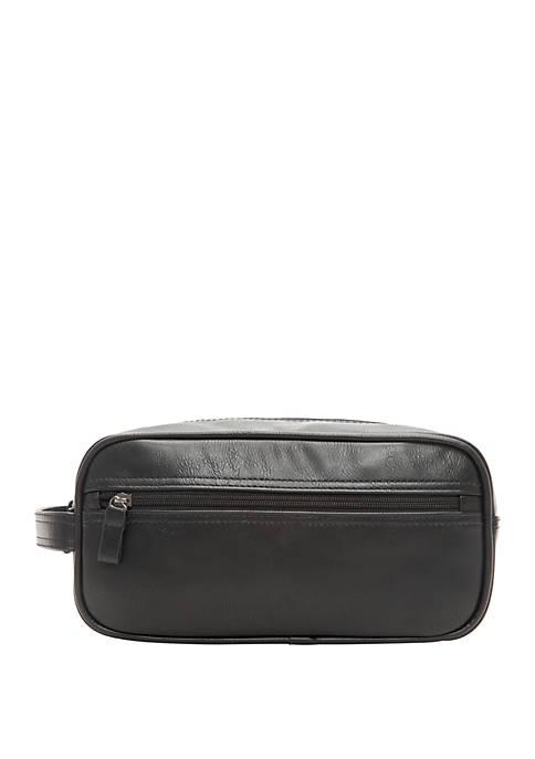 Top Zip Black Travel Kit