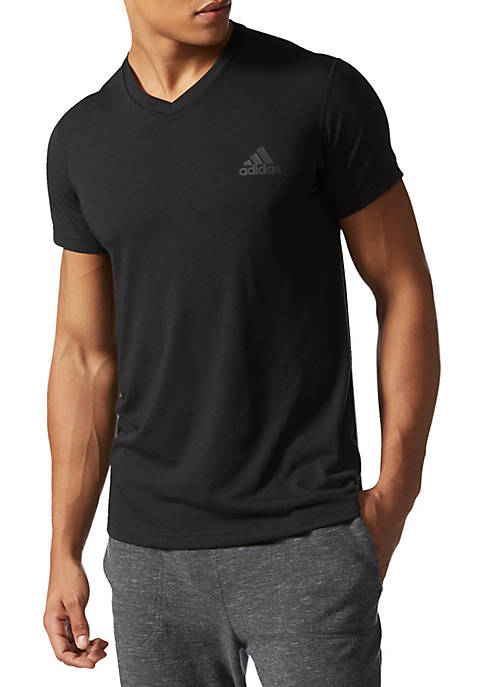 adidas Ultimate Short Sleeve V-Neck Tee