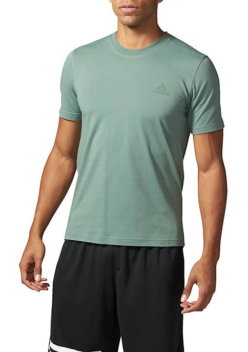 adidas Short Sleeve Droptail Tee Shirt