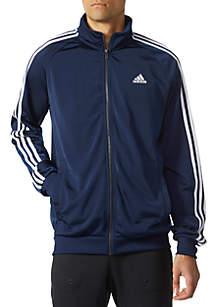Big & Tall Essential Three Stripe Track Jacket