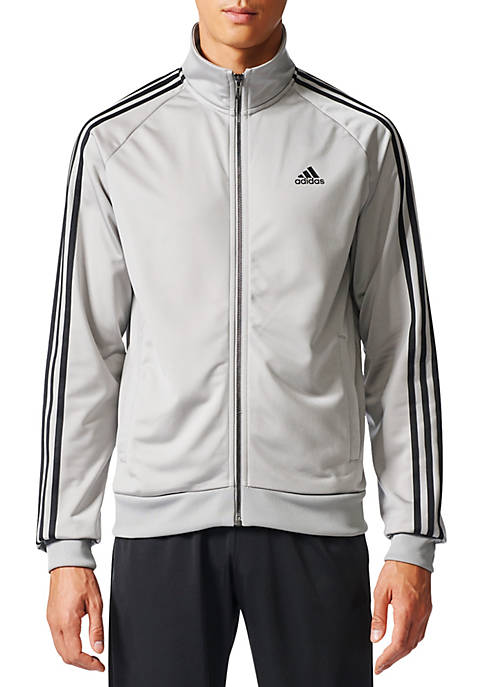 adidas Mens Essential 3-Stripe Tricot Track Jacket