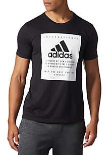 Badge of Sport Label Short Sleeve Tee