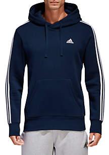 Essential 3-Stripe Pullover Hoodie