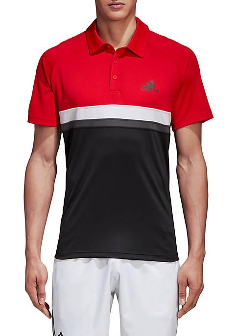 adidas Club Colorblock Polo