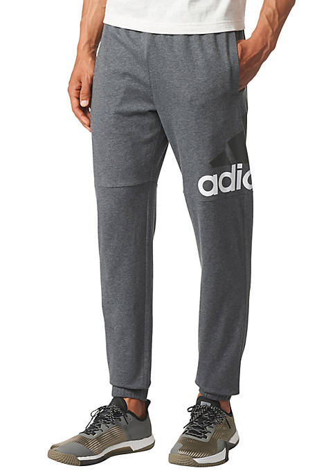 adidas Mens Logo Taper Pants