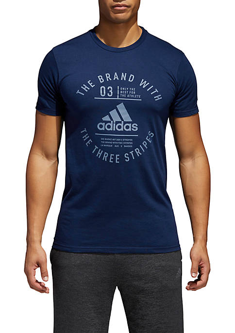 adidas The Three Stripe Tee