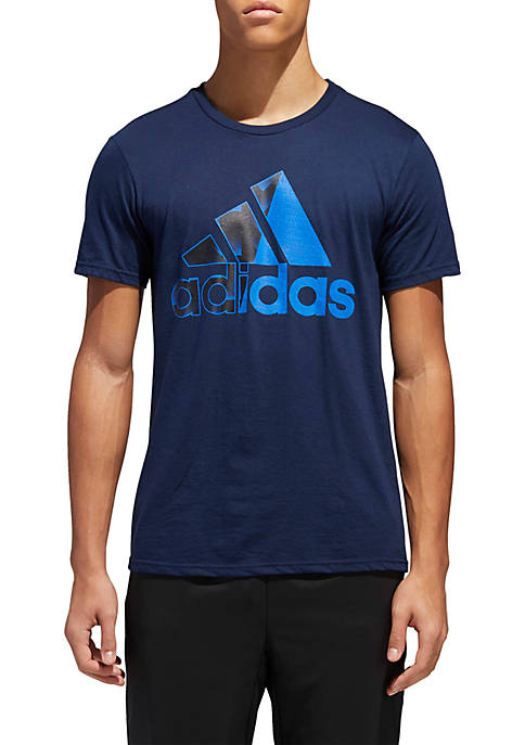 adidas Short Sleeve Split Tee