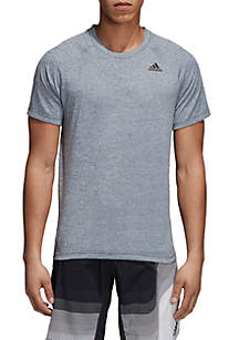 adidas Designed 2 Move Short Sleeve Heather Tee