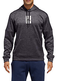 Patch Pullover Hoodie