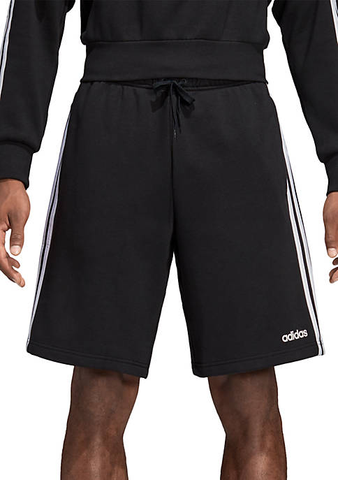 adidas Essentials 3-Stripes Fleece Shorts