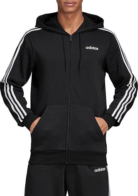 adidas Essentials 3 Stripes Fleece Hoodie