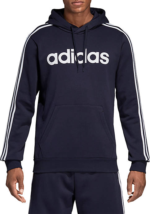 adidas Essentials 3 Stripes Pullover Hoodie