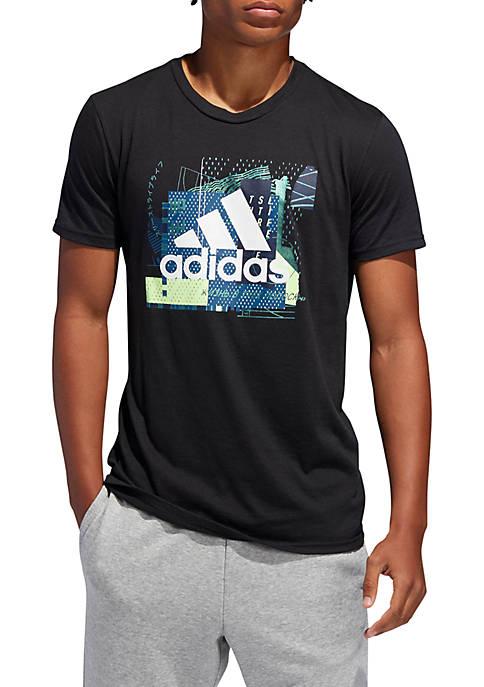 adidas Sports Layer Short Sleeve T-Shirt