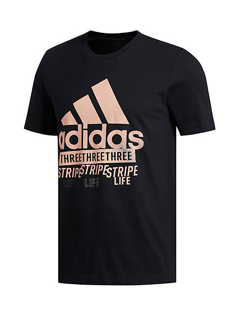 adidas Work In Progress Stamp Amplifier Tee