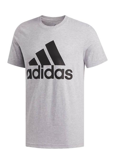 Big & Tall Basic Badge of Sport T-Shirt