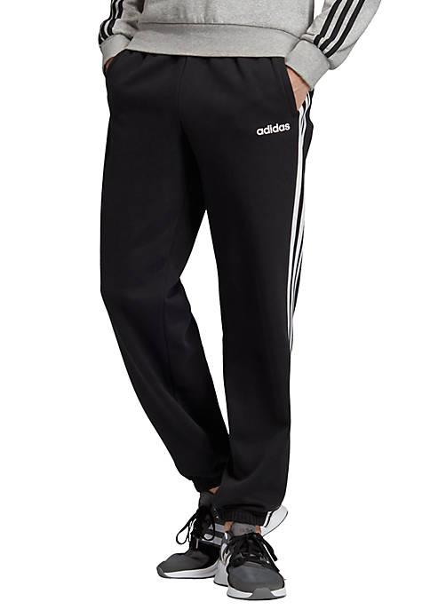 adidas Essentials 3 Stripes Fleece Pants